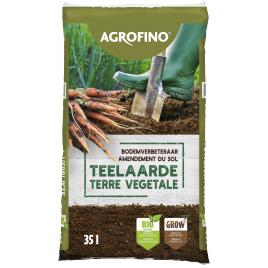 Palette 45 sacs Terre végétale enrichie 35 L AGROFINO (livraison à domicile)