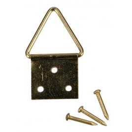 Attache pour cadre Ø11 mm 10 pièces