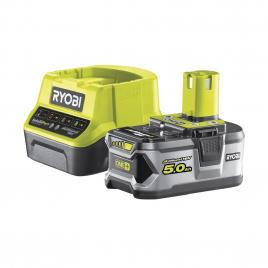 Batterie One+ avec chargeur RC18120-150 18 V 5 Ah RYOBI