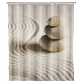 Rideau de douche Sand and Stone 180 x 200 cm WENKO