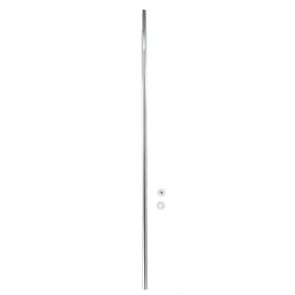 Barre de rideau de douche télescopique chromée 110-185 cm WENKO