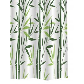 Rideau de douche Bambou 180 cm ALLIBERT