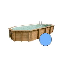 Piscine avec liner bleu Océa 4,7 x 8,6 x 1,3 m UBBINK