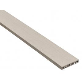 Planche de terrasse composite grise 200 x 12 x 2,1 cm GRAD BY YOU