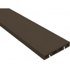 Planche de terrasse composite brune 200 x 12 x 2,1 cm GRAD BY YOU