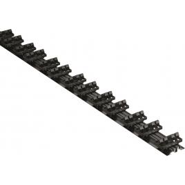 Rail de fixation pour planche de terrasse 198 x 3 x 6,3 cm GRAD BY YOU