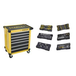 Servante d'atelier avec 7 tiroirs et outils STANLEY