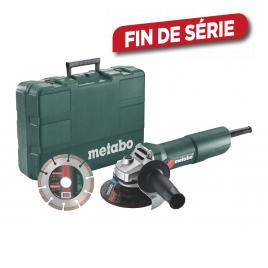 Meuleuse d'angle avec disque W750-125 METABO
