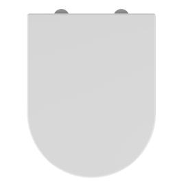 Abattant pour WC Boreo Kobalt blanc ALLIBERT