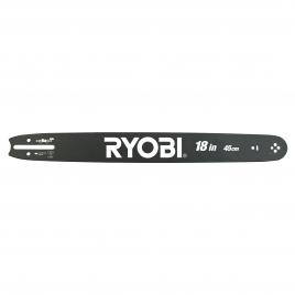 Guide-chaine pour tronçonneuse thermique 45 cm RYOBI