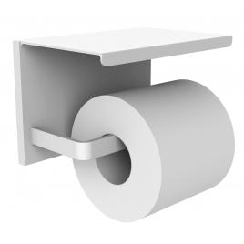 Dérouleur de papier toilette avec tablette blanc mat Loft Game ALLIBERT