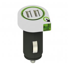 Chargeur 2 USB pour voiture 2,1 A CHACON