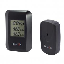 Thermomètre intérieur-extérieur sans fil CHACON
