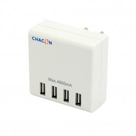 Chargeur secteur 4 ports USB CHACON