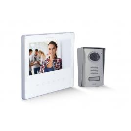 "Vidéophone 2 fils 7"" blanc Ultra Slim CHACON"