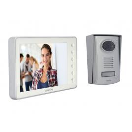 Vidéophone 2 fils 7'' blanc CHACON