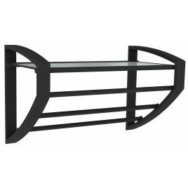 Porte-serviette à 3 barres noir mat Loft Game ALLIBERT