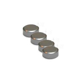 Fixations rondes en aluminium pour miroir 4 pièces LAFINESS