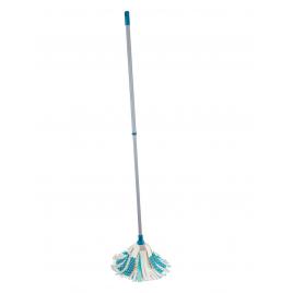 Balai à franges de nettoyage Power Mop 3 en 1 télecopique Leifheit