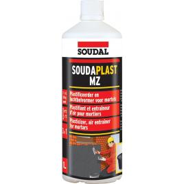 Plastifiant pour mortier 1 L Soudaplast MZ SOUDAL