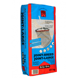 Mortier pour joints larges gris 25 kg
