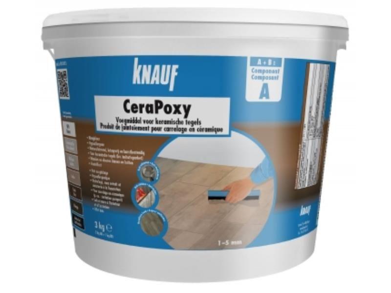 Pate De Jointoiement Cerapoxy Wenge 3 Kg Knauf