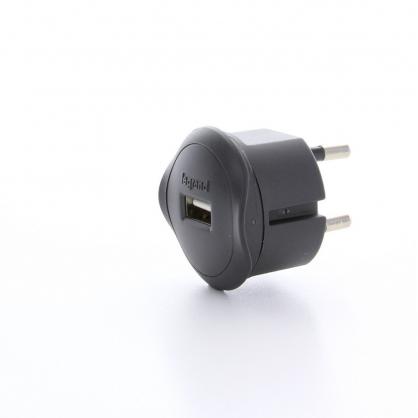Chargeur USB 5 V 10 A noir LEGRAND