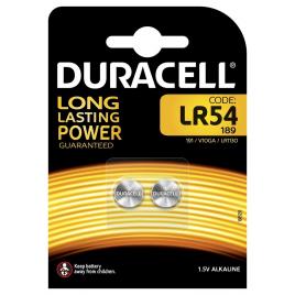 Pile bouton LR54 2 pièces DURACELL