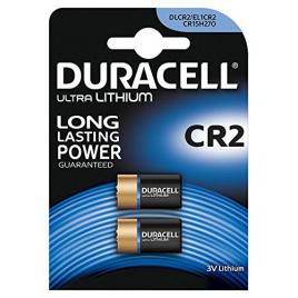 Pile au lithium CR2 3 V 2 pièces DURACELL