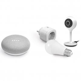 Kit de démarrage domotique avec Google Home mini AVIDSEN