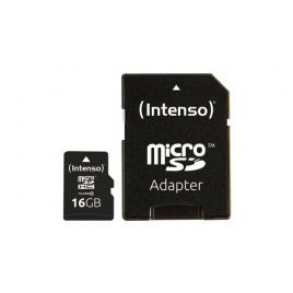 Carte micro SD 16 GB INTENSO