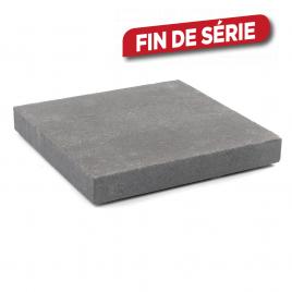 Palette 108 Dalles grises foncées en béton 30 x 30 x 4 cm COMBO GARDEN (livraison à domicile)