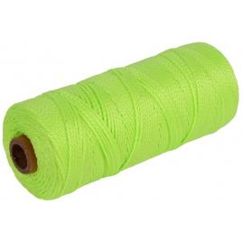 Cordeau de maçon vert fluo Ø 1,5 mm 200 m AVR TOOLS