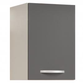 Meuble de cuisine haut Eko gris brillant 40 x 35 x 58 cm EKIPA