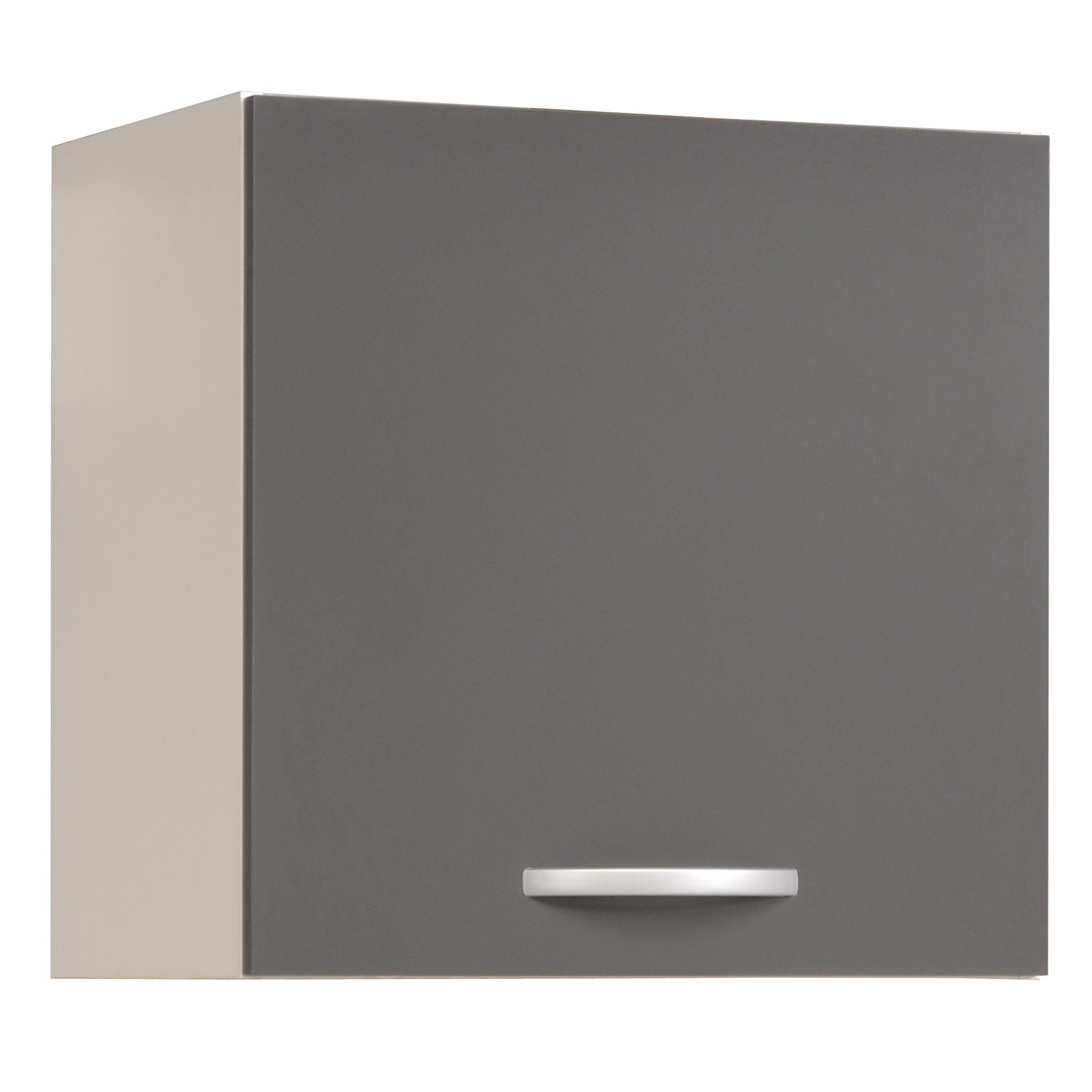 Meuble de cuisine haut Eko gris brillant 15 x 15 x 15 cm EKIPA
