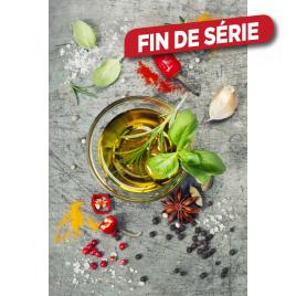 Impression sur verre Huile d'Olive 30 x 45 cm