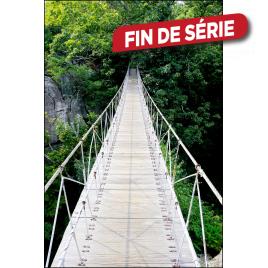 Impression mate encadrée Pont sur Rivière 80 x 120 cm