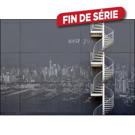 Impression mate encadrée Stairs 97 x 65 cm