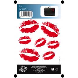 Planche de stickers Kiss 2 pièces