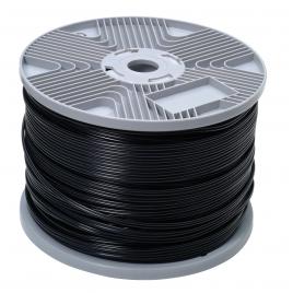 Câble audio 2 x 0,75 mm² noir au mètre PROFILE