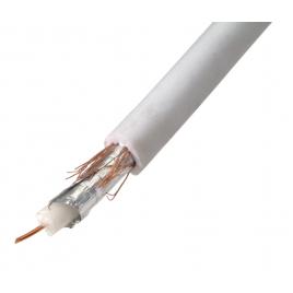 Câble coaxial blanc au mètre PROFILE