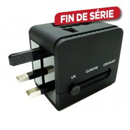 Adaptateur de voyage avec USB PROFILE