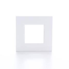 Plaque de recouvrement simple blanche BTICINO