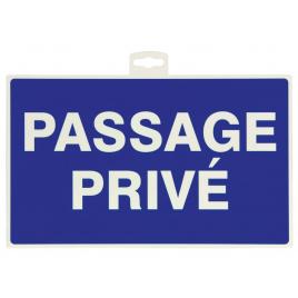 Panneau passage privé PEREL