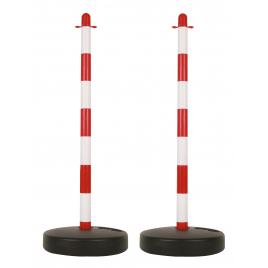 Poteau pour chaine de signalisation 2 pièces PEREL
