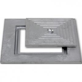 Taque en fonte simple 30 x 30 cm COBO GARDEN
