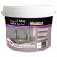 Enduit de rénovation béton minéral noir intense 6 kg