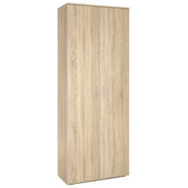 Armoire multifonctionnelle chêne 70 x 34 x 187 cm PRACTO HOME