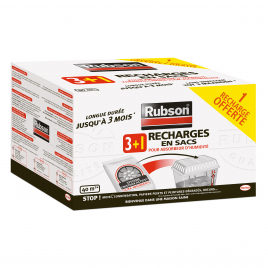 Recharges absorbeur 3 + 1 gratuit RUBSON