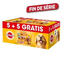 Boîte de snacks 5 + 5 gratuits PEDIGREE